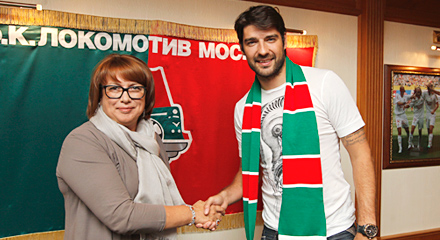 Lokomotiv pick up Corluka