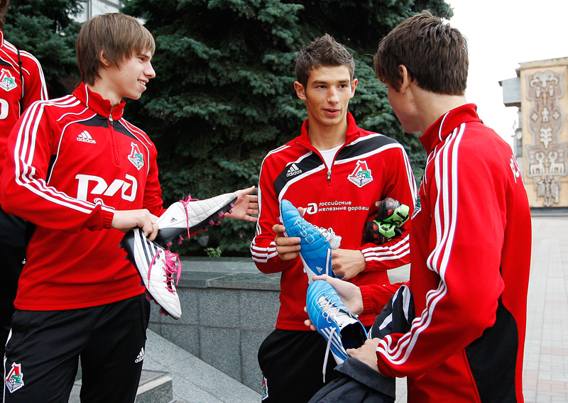 Молодежь «Локо» во Владикавказе
