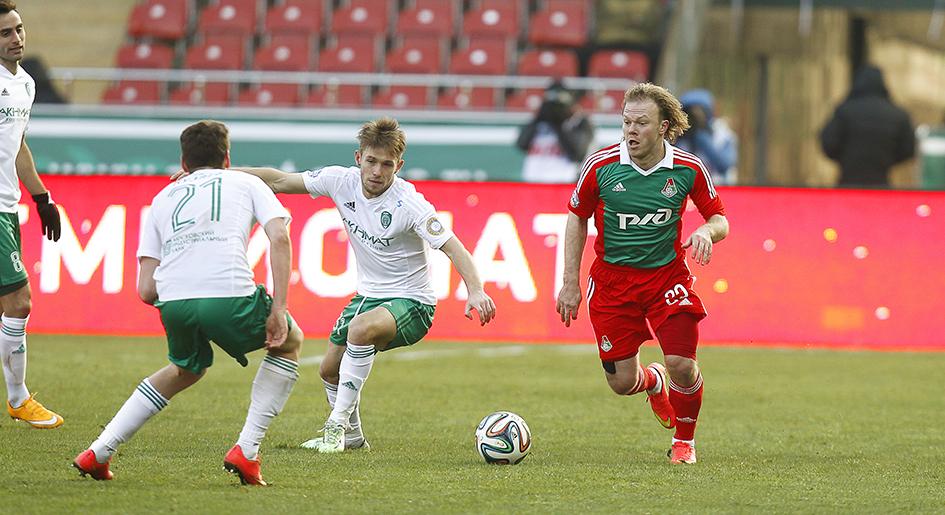 Виталий Денисов провел 50-й матч за сборную