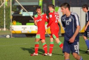 Локомотив - Юношеская сборная Кипра