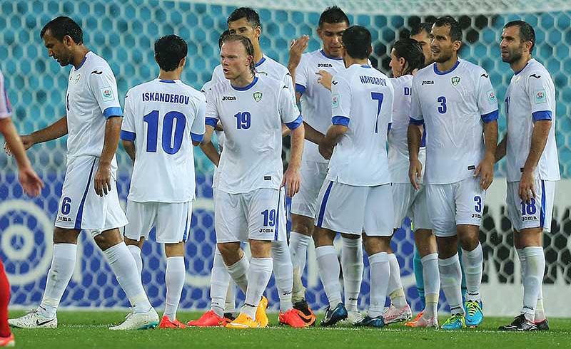Denisov Played Full Time In Uzbeks' Opener