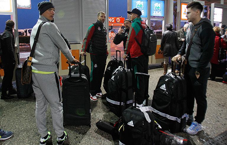 Lokomotiv Hold Training Camp In Turkey