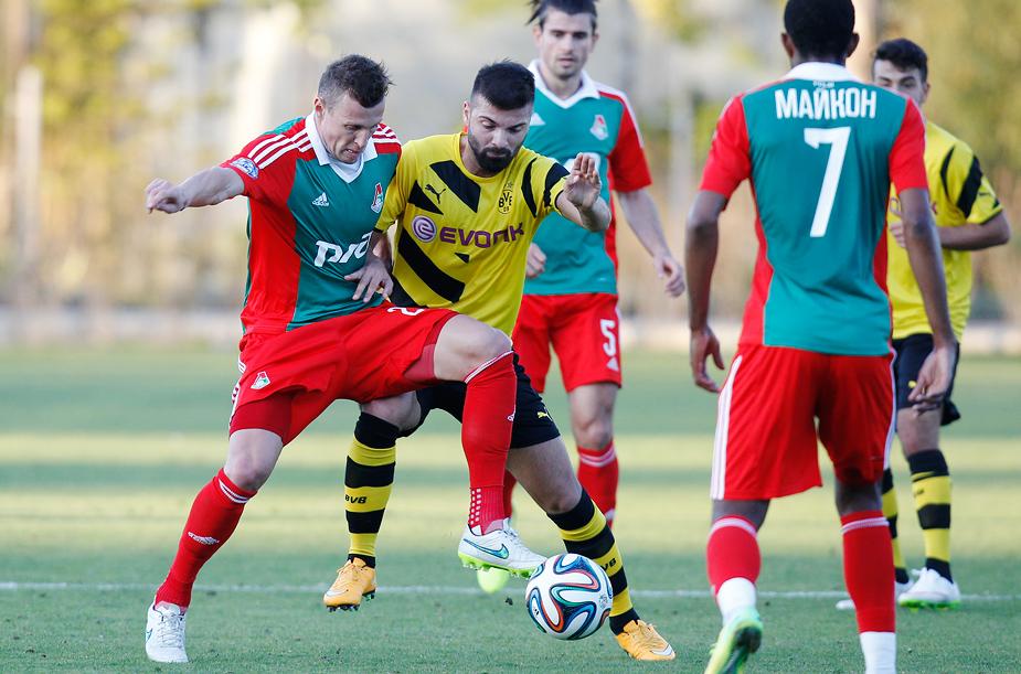 Lokomotiv – Borussia U-23 0:1
