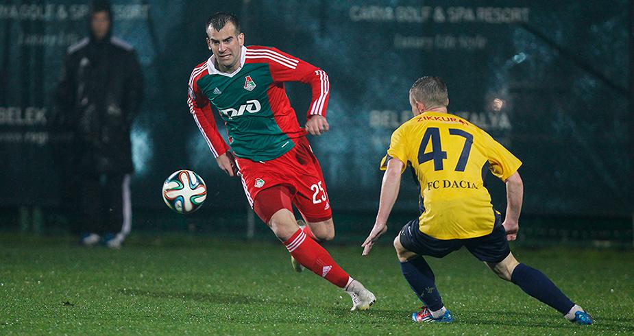 Гол Шкулетича не помог «Локо» в матче с «Дачией»
