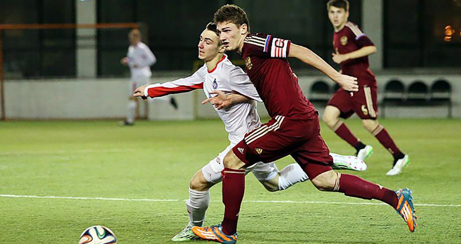 Четыре футболиста «Локомотива» - в юношеской сборной России