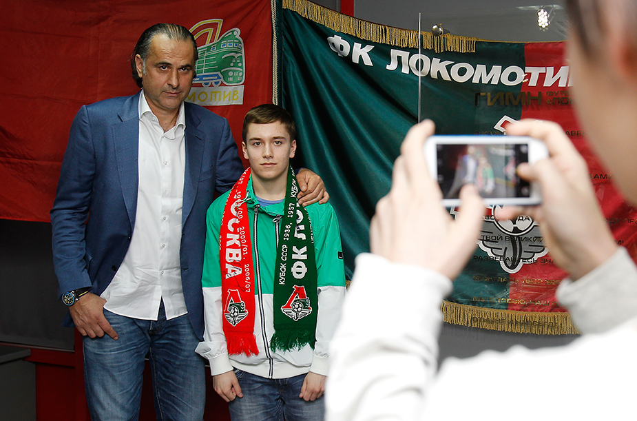 Miodrag Bozovic met with fans in the club museum