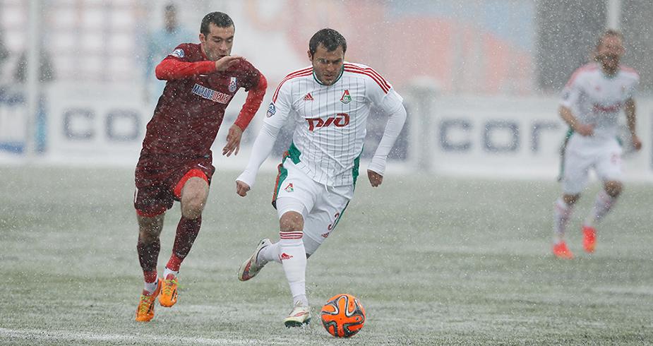 Snowy Draw In Saransk