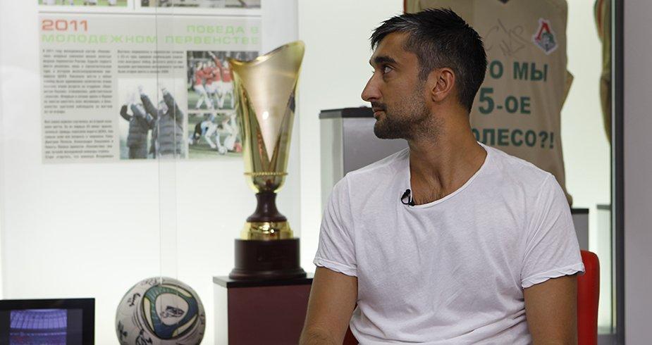 Alexander Samedov: 'I didn't pay attention to Dzyuba's kiss'