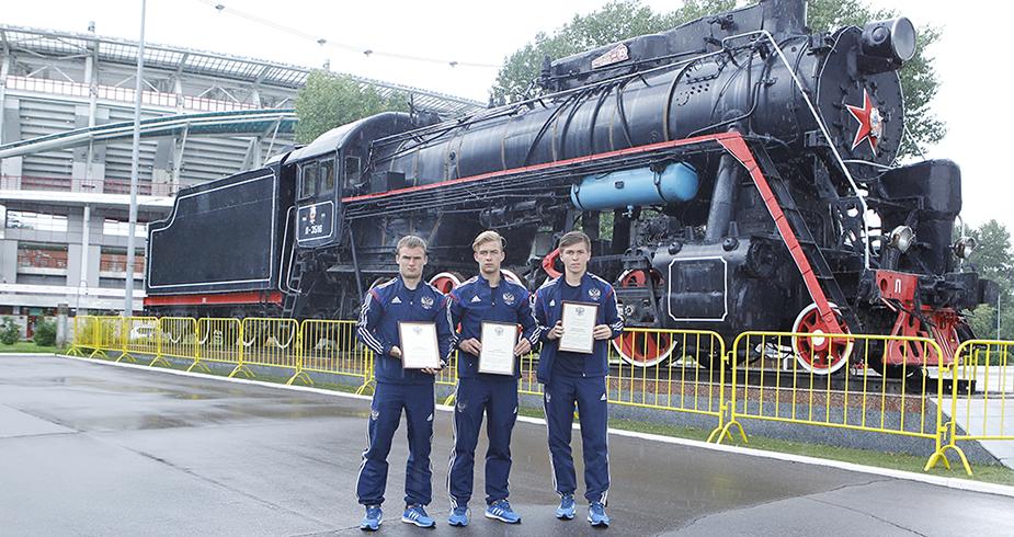 Герои юношеского Евро вернулись в Черкизово