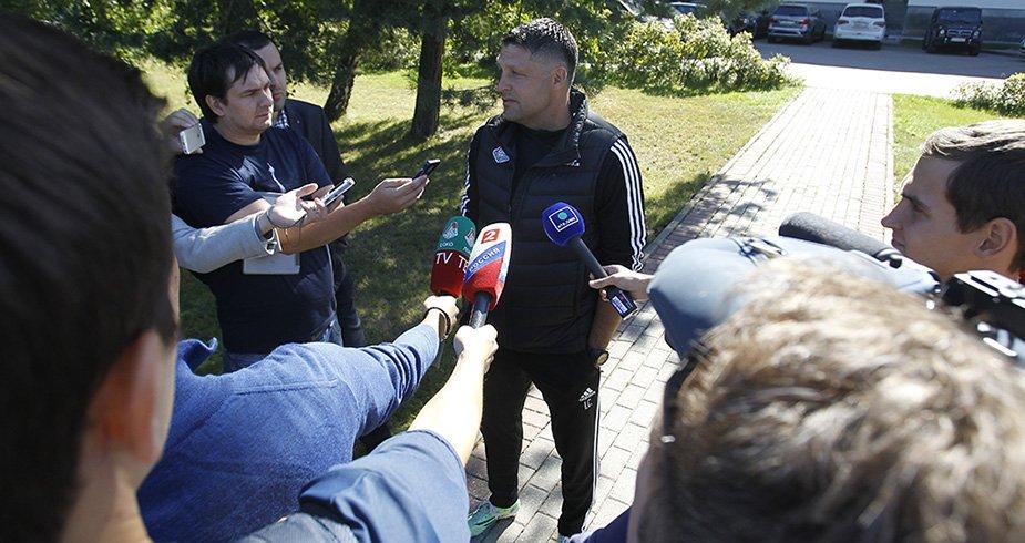 Мероприятия для прессы перед игрой со «Скендербеу»