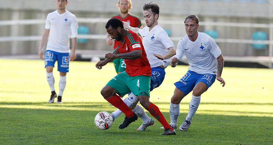 Первый матч в Португалии