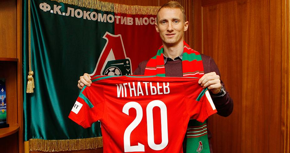 Lokomotiv Sign Vladislav Ignatyev