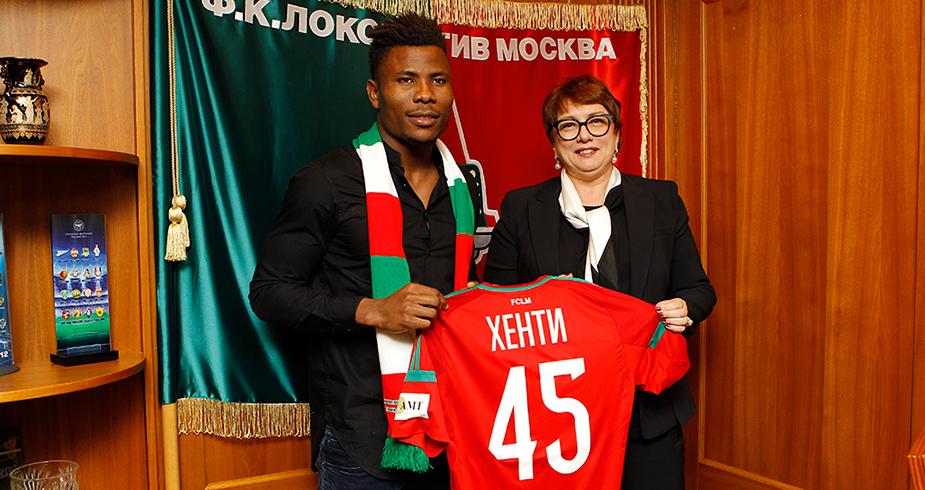 Ezekiel Henty Joins Lokomotiv