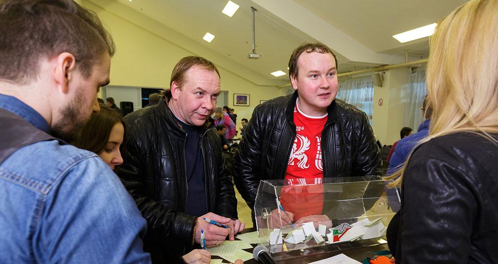 Матч со «Спартаком» на секторе VIP-1