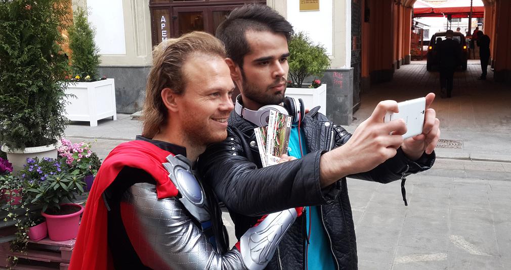 Тор на улицах Москвы