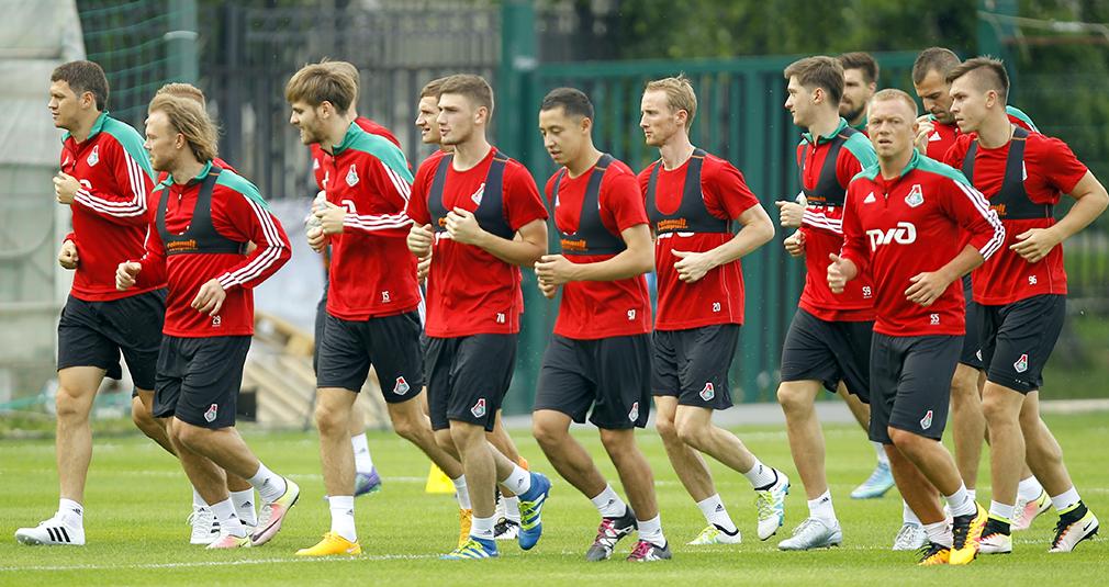 «Локомотив» провел первую тренировку после отпуска