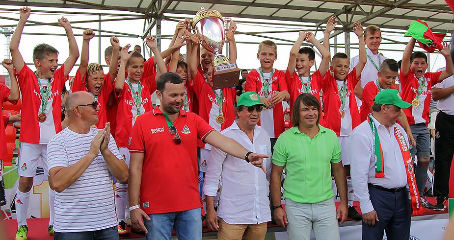 «Локомотив»—2005 чемпион «Локобола-2016-РЖД»