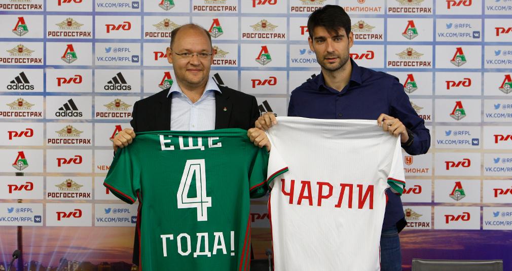 Ведран Чорлука продлил контракт с «Локомотивом»
