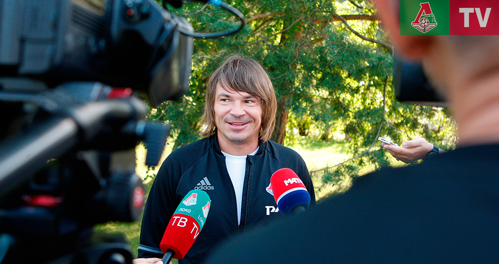 Дмитрий Лоськов: Приятно вернуться домой
