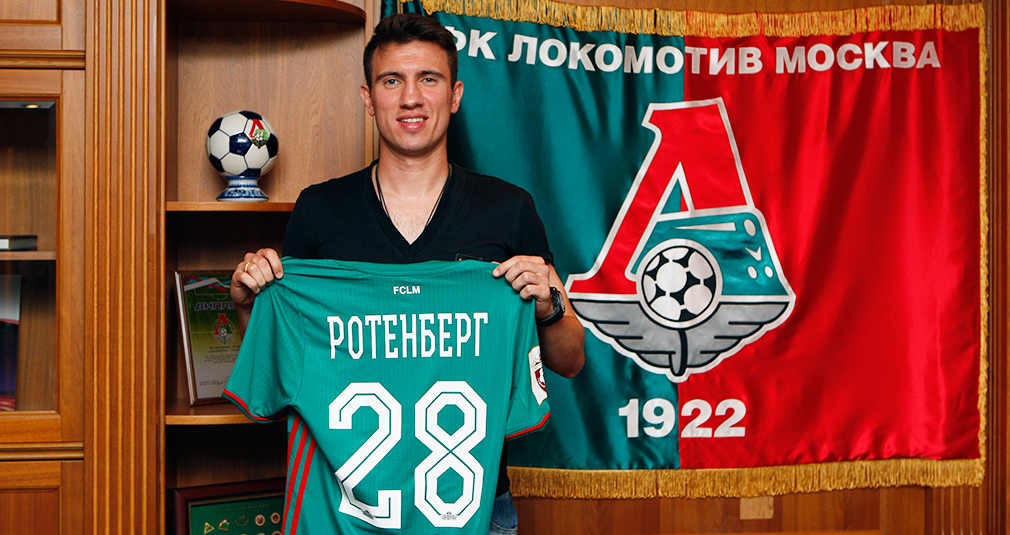 Boris Rotenberg Signs With Lokomotiv