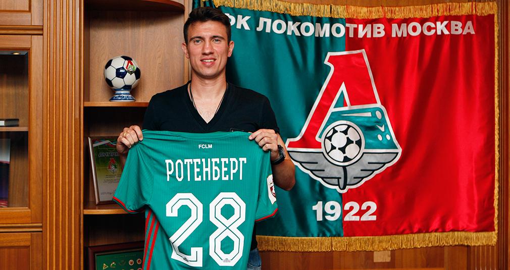 Boris Rotenberg Signs With Lokomotiv