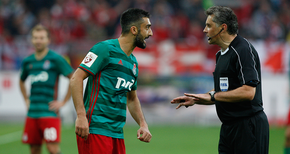 Samedov: Spartak played a good game