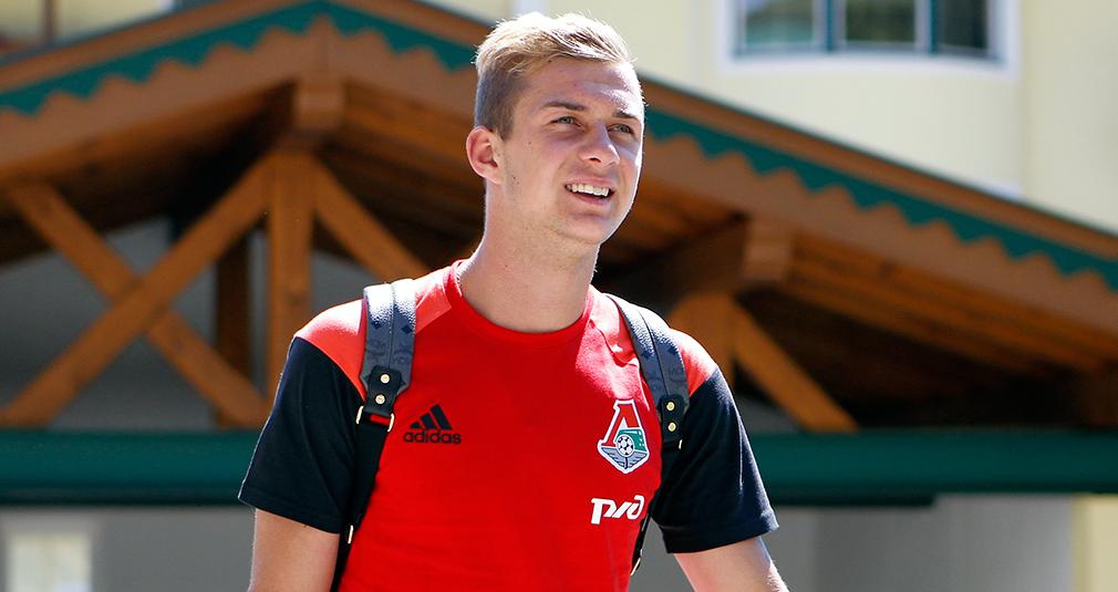 Баринов вызван в молодежную сборную России