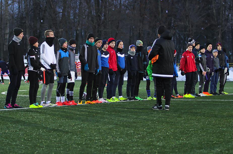 Набор в «Локомотив-2»