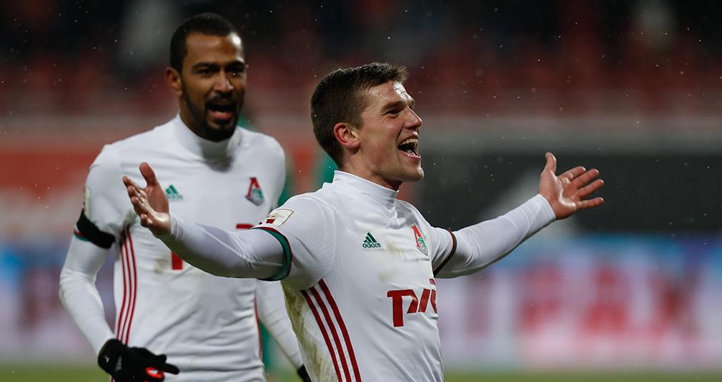Игорь Денисов - автор лучшего гола в 2016 году