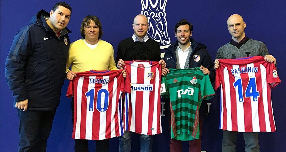 Тренеры «Локо» побывали на стажировке в «Атлетико»