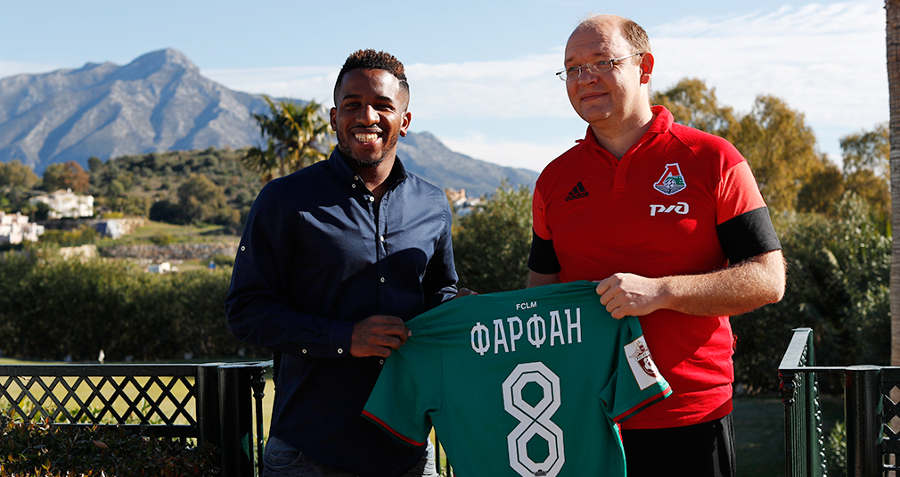 Jefferson Farfan Signs With Lokomotiv