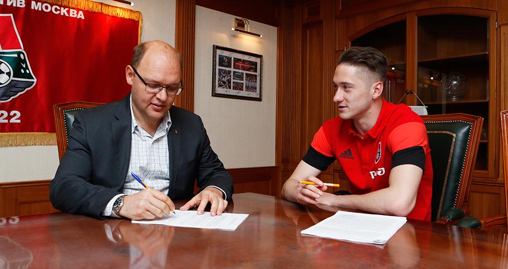 Anton Miranchuk Signs New Contract With Lokomotiv