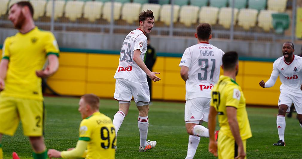 Миранчук принес «Локо» победу над «Анжи»