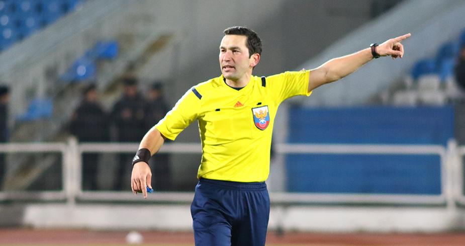 Галимов назначен на матч «СКА-Хабаровск» - «Локо»