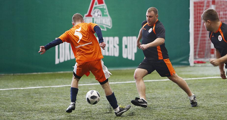 Футбольный праздник для партнёров