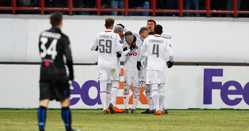 «Локомотив» – в 1/8 финала Лиги Европы!