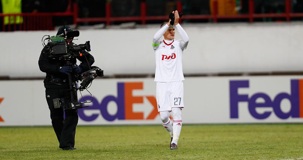 Игорь Денисов – лучший игрок матча с «Ниццей»