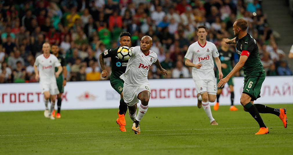 «Локомотив» проиграл в Краснодаре