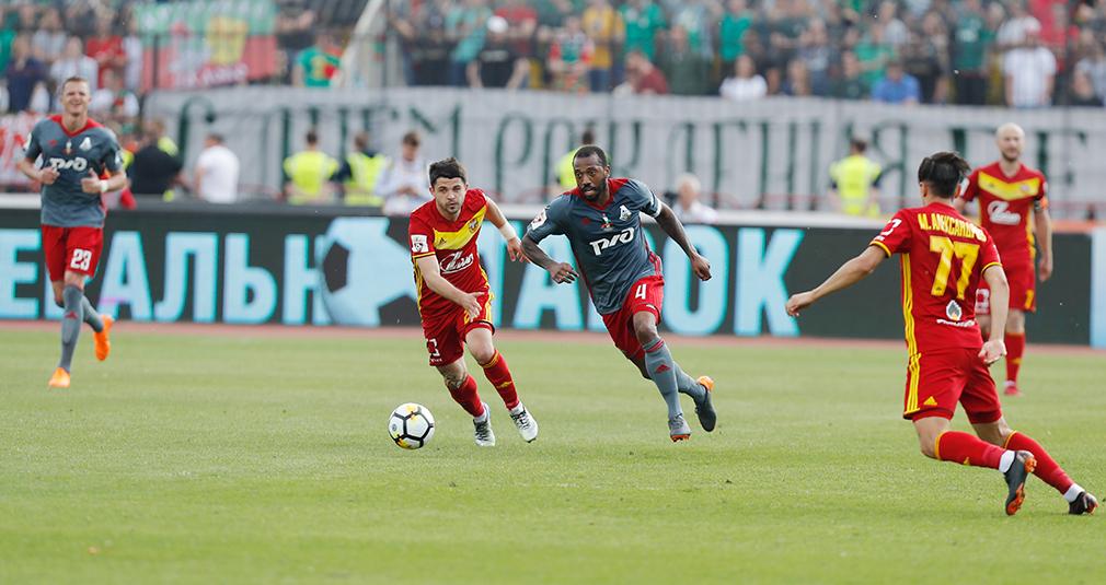 «Локомотив» завершил сезон в Туле