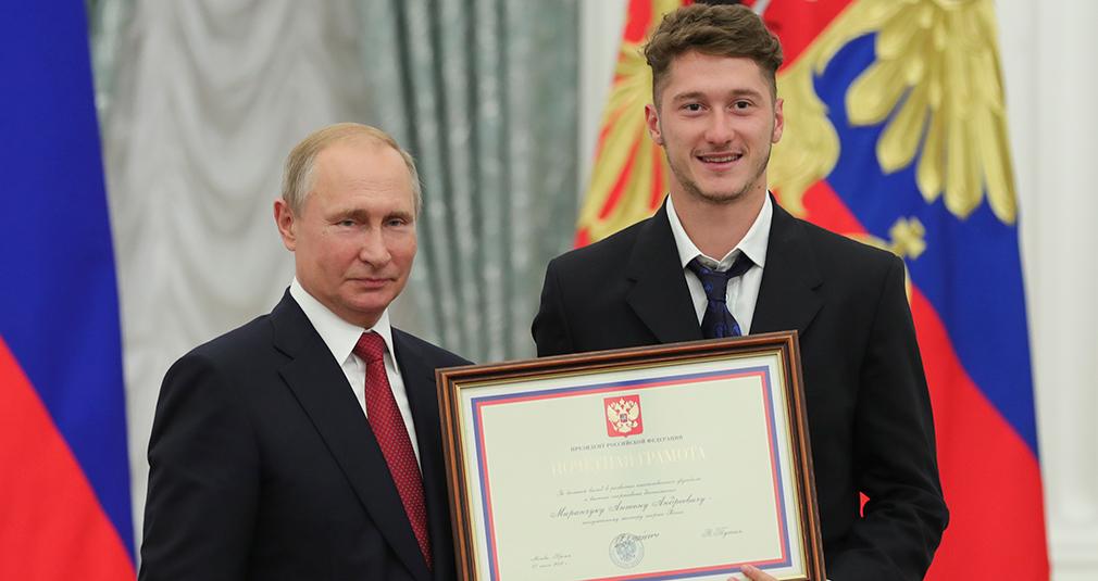 Миранчуки - заслуженные мастера спорта