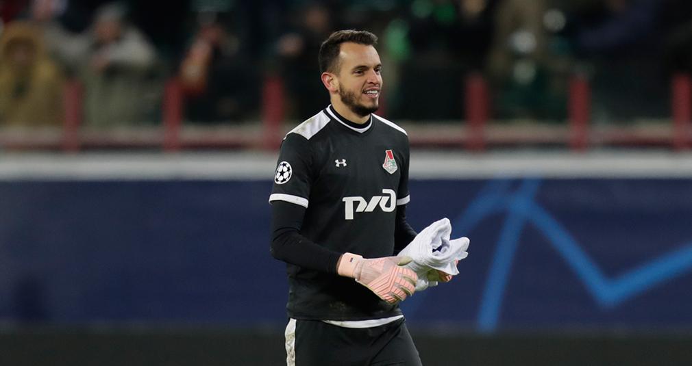Гилерме провел сотый матч на ноль за «Локомотив»