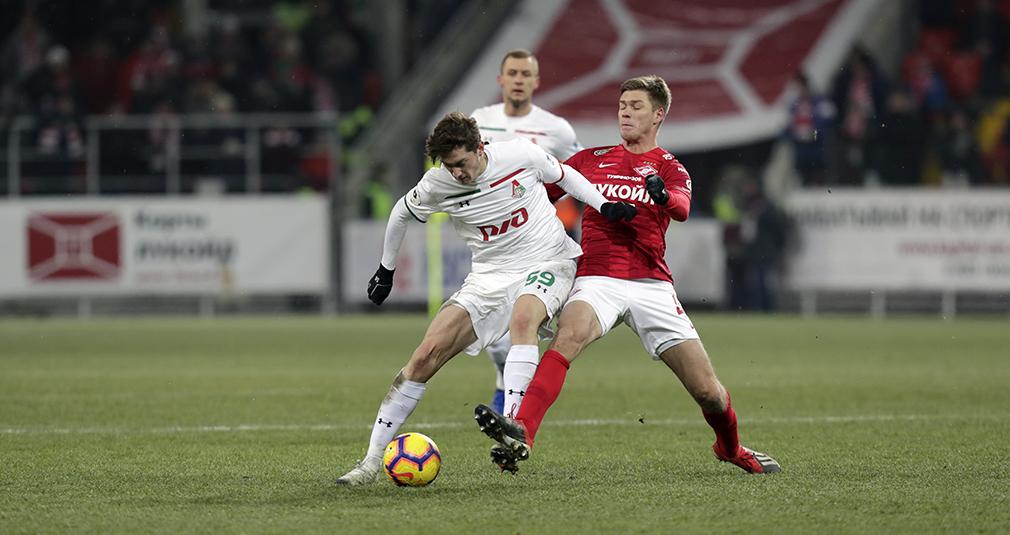 Spartak vs Lokomotiv — 2:1