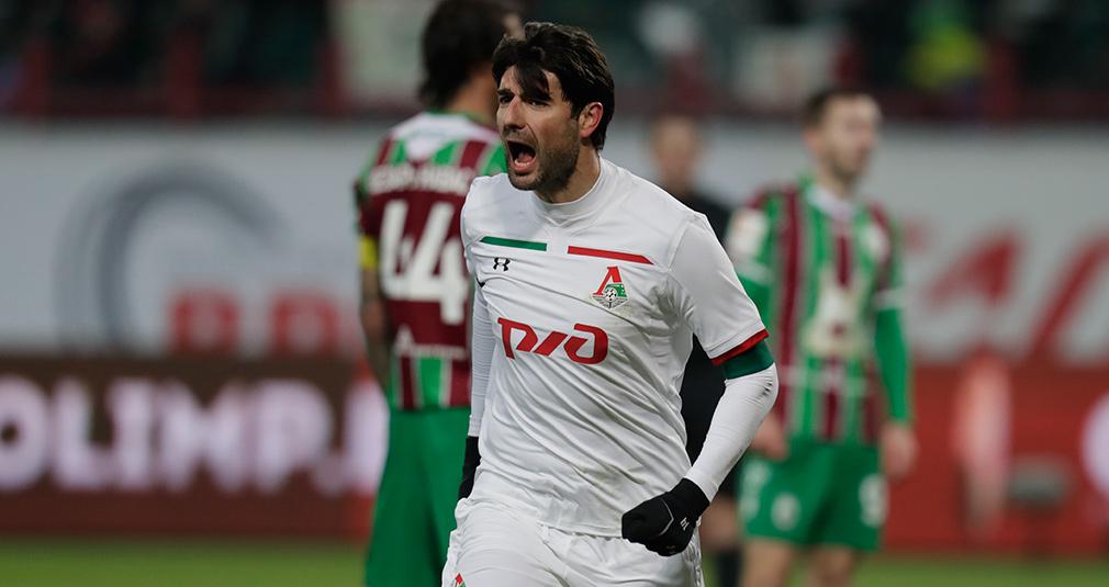 Lokomotiv vs Rubin — 1:0