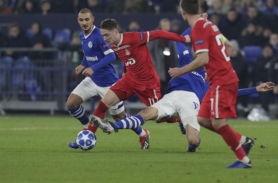 Gallery: Schalke – Lokomotiv 1:0