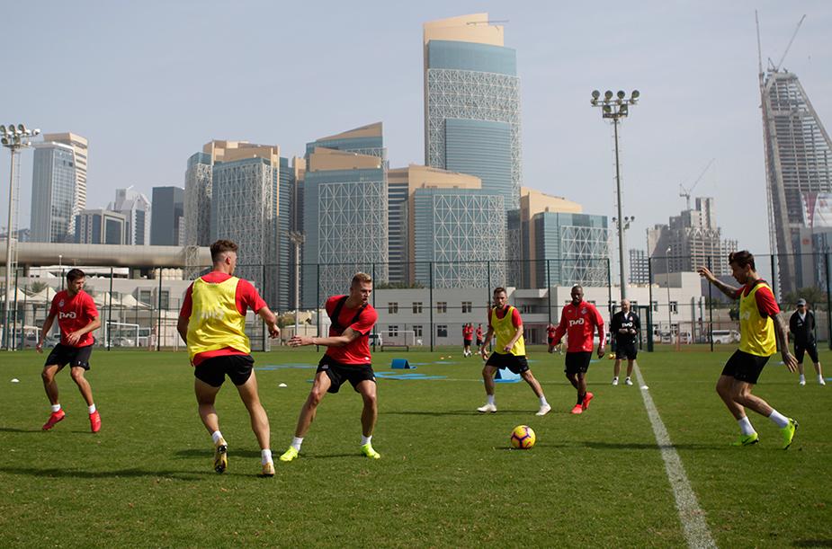 Сборы в Катаре. День второй