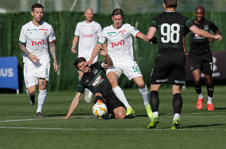 «Краснодар» - «Локомотив» - 1:0
