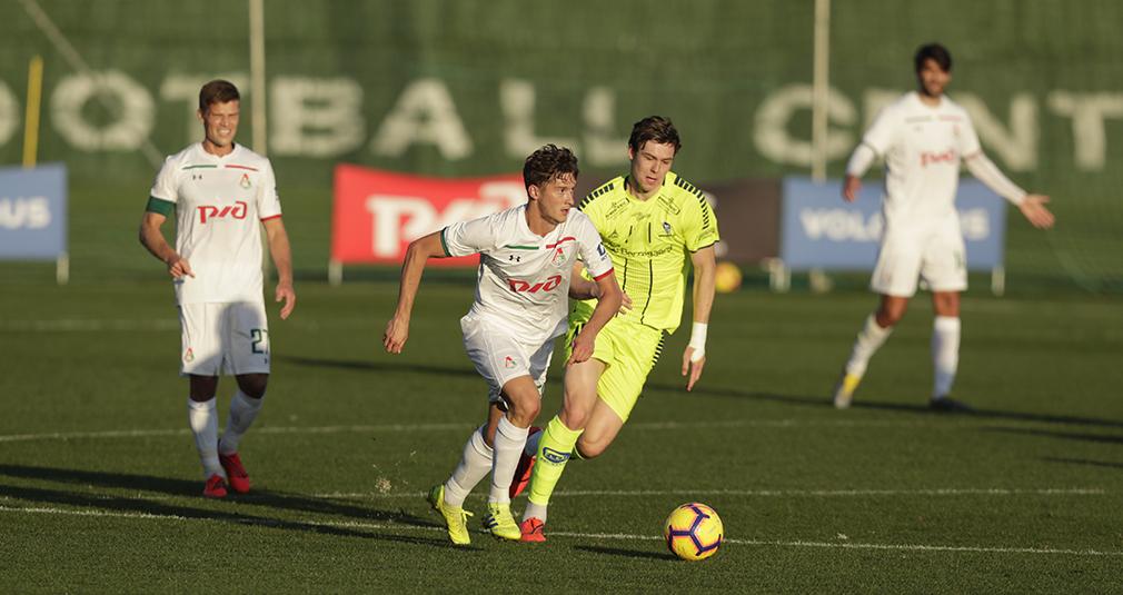 Два пенальти и гол на 90-й минуте. «Локомотив» продолжает побеждать на сборах