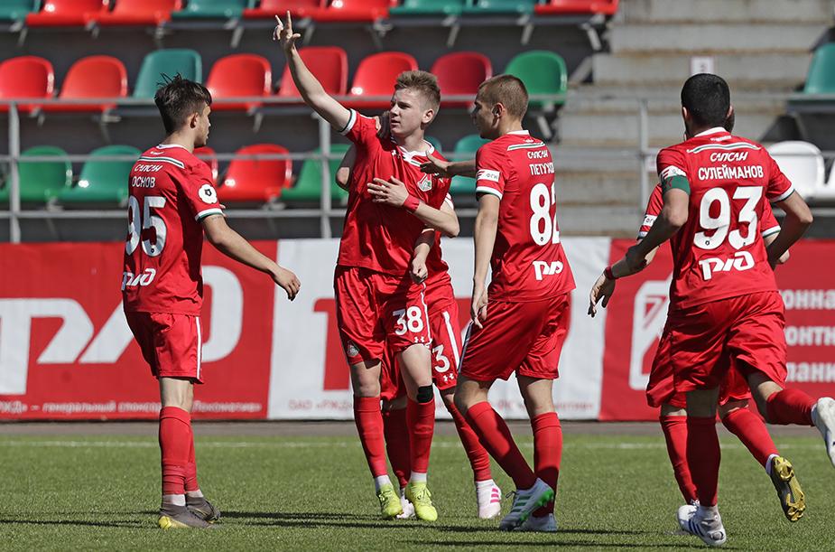 «Локомотив» (мол) – ЦСКА (мол) – 2:0
