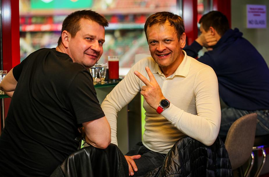 Сектор DIAMOND на матче с ЦСКА