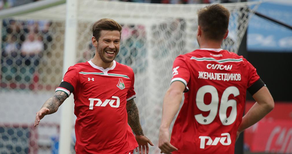 Пенальти Миранчука, гол Смолова, первый мяч Хвичи. «Локо» разгромил «Рубин»